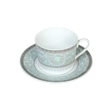 Paisley Cup & Saucer