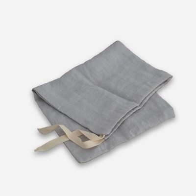 Linen Bread Bag Blue/Grey