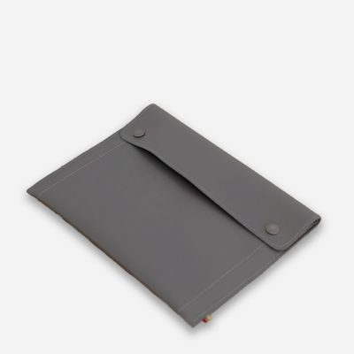 Leather Tablet Case Grey