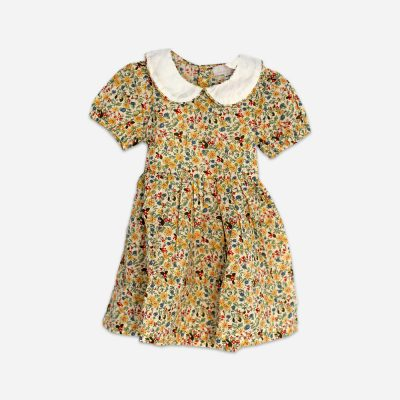 Cotton girl's floral dress