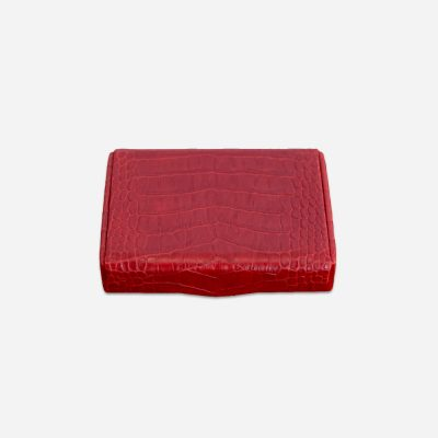 Textured Leather Jewellery Box