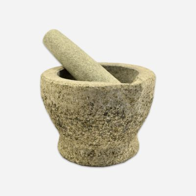 Granite Pestle and Mortar with Sprout
