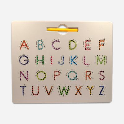 Alphabet and number magnet
