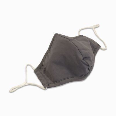 Cotton Mask with filter – Grey